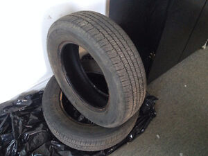 2 All Season Bridgestone Insignia Tires 195/65/R15