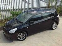 2010 TOYOTA VERSO T SPIRIT 2.0 D4-D 5 DOORS MANUAL DIESEL BLACK