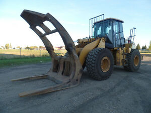 2005 CATERPILLAR 950G WITH LOG GRAPPLE AT www.knullent.com Edmonton Edmonton Area image 1