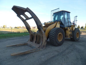 2005 CATERPILLAR 950G WITH LOG GRAPPLE AT www.knullent.com