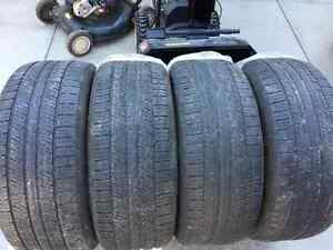275/55R19 - 4 all season continental tires Kitchener / Waterloo Kitchener Area image 5