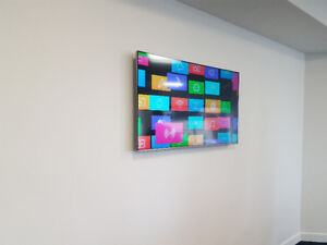 Tv wall mounting 647-821-5194 FAST AND SECURE