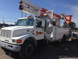 Electrical Utility Bucket Truck