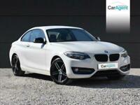 2014 BMW 2 Series 2.0 218D SPORT 2d 141 BHP Coupe Diesel Manual