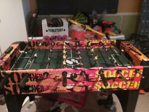Soccer sur table (babyfoot)