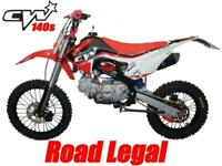 PITBIKE CW125 S ENDURO LEARNER LEGAL SUPERMOTO ROAD LEGAL 2019 WRX125 R125 KLX12