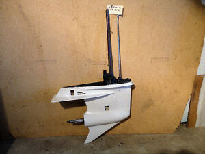 07 115-35 HP evinrude lower units