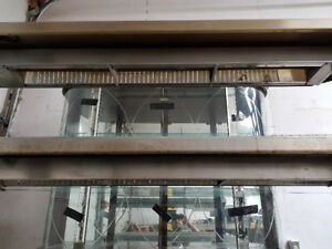 Completely working triple layer Stainless Steel Heat Rack.