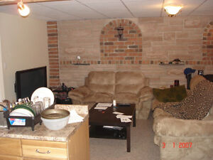 One bedroom apartment, bottom floor of a beautiful home