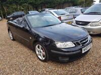 Saab 9-3 1.9TiD Vector 150 BHP, Convertable, E/Roof, Full History, Leather