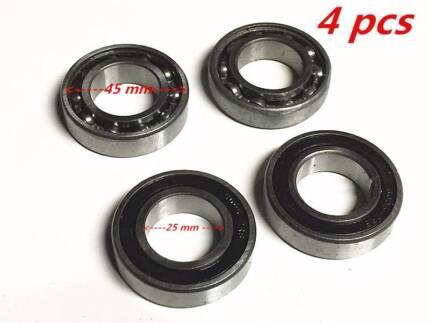 4pc Wheel barrow Bearings WheelBarrow 25.4mm Bore 52mm Outer Plas