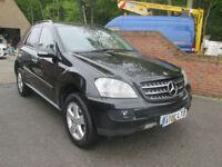 2007 (07) MERCEDES ML 280 CDI SE AUTO + FULL LEATHER + SAT-NAV