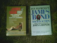 James Bond books. Wicked by Gegory Maguire.
