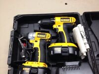 Dewalt drill and impact combo