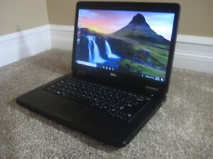 "14"" Dell Laptop, Intel Core i5, 16GB RAM, 256GB SSD, DVD Drive"