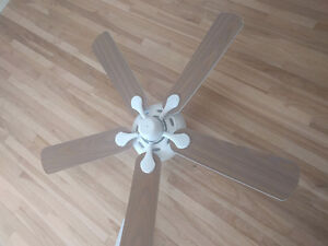 "Ventilateur de plafond 52"" ceiling fan"