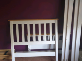 Dawson high foot end bed frame in single