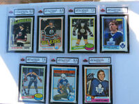GRADED ROOKIE HOCKEY CARDS