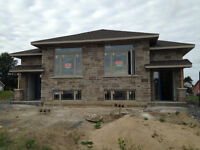 2 BEDROOM NEW CONSTRUCTION SEMI DETACHED FOR LEASE