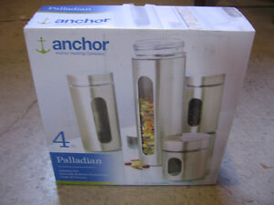 ANCHOR Stainless Steel Food Storage Set