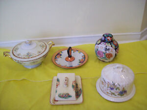 Antique DISHES - with Covers, VASES And MORE ** SEE EACH PRICE