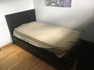 Single Bed and Dresser set