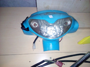 DayMak Scooter Headlight,Turn Signal Array