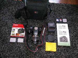 DSLR  Canon camera package Rebel xs