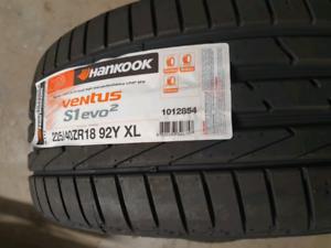 Brand new Hankook tyres x 2 tyres