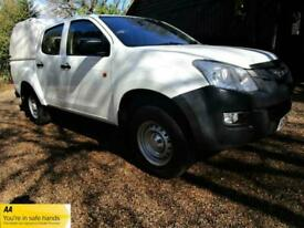 ISUZU D-MAX 2.5TD DOUBLE CAB PICK UP 4X4 WITH TRUCKMAN TOP 2015