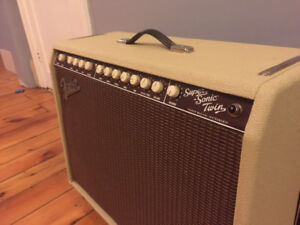 Fender Supersonic Twin Blonde