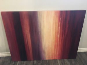 Large painting from winners