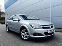 2005 55 Reg Vauxhall Astra 1.6i 16v Sport Hatch SXI SILVER Coupe