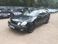1999 LEXUS GS 3.0 300 SE 4D AUTO 219 BHP