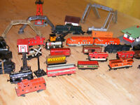 1950's Marx O gauge trains and accessories