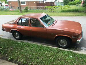 All reasonable offers considered - 1975 Chevy Nova  $6000 OBO