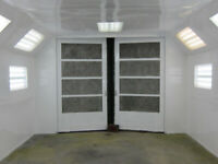 paint booth for rent