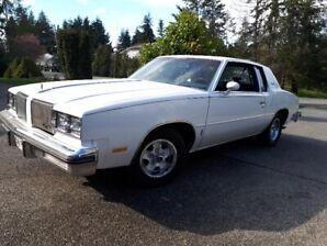 1980 Cutlass Supreme, Southern Oregon Car.