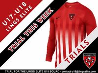 U18 Football Trial Sessions for the Lings Elite squad