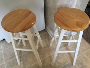 2 kitchen stools forsale