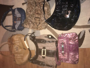 Guess and coach purses all authentic