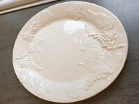 Large White Porcelain Platter Serving Plate - Perfect for Christmas!