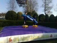 Gladiator duel bouncy castle