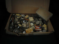 Big Box of Pocket Watches and Parts