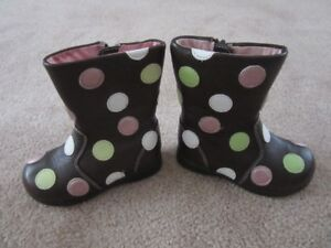 Pediped Flex Giselle Toddler Boots Size 6-6.5 EU size 22