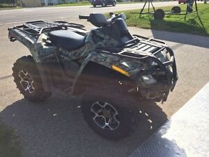 2009 Can Am Outlander  800cc Kitchener / Waterloo Kitchener Area image 2
