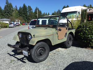 1957 Willy's Jeep