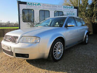 2000 Audi S6 Avant 4.2 auto quattro*Cambelt Changed*Silver*Black Recaro Leather