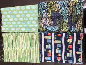 Quilting Fabric - 1/2 yards and 3/4 yards