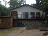 Year Round Lake front Cabin for Sale at Emma Lake